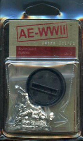 AE-WWII 28mm Soviet Guard 2 White Metal Figures Kit #RUS006 N/A AE-WWII