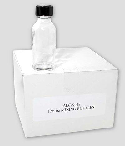 Alclad II Lacquer Empty 1 oz Mixing Bottles with Lids 12 Bottles