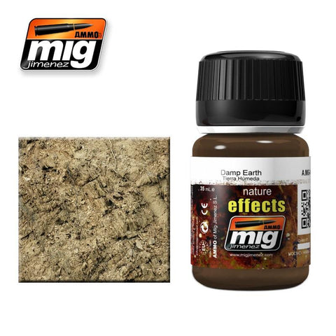 Earth colored effect that dries with a satin finish for the appearance of wet or damp mud. Mix with plaster to create accumulations of textured mud and earth.. Apply and blend with a clean brush moist with Enamel Thinner.