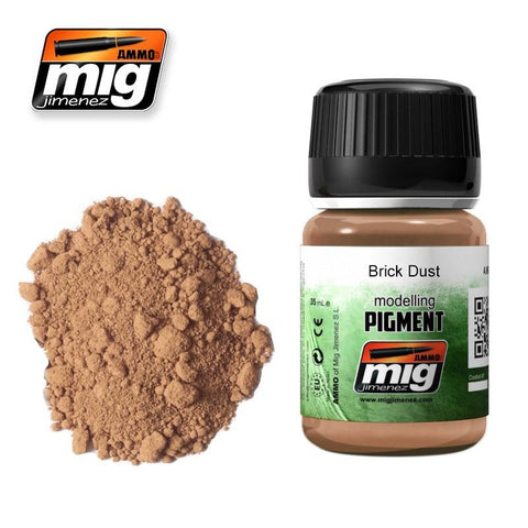 High quality Pigment, superfine and made from natural products for exclusive use in modeling. This color is specially designed to make effects in your models using the techniques that Mig Jimenez created for more than a decade.