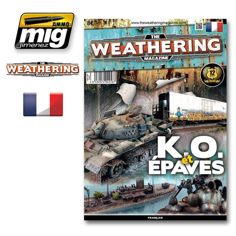 Ammo Mig Jimenez The Weathering Magazine Issue 9. K.O. ET EPAVES French #4258 N/A Ammo of Mig Jimenez