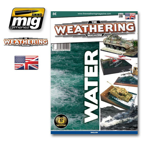The only magazine in the world devoted exclusively to the weathering effects and paint in general for all kinds of modeling. This issue is dedicated to water and moisture. The best modellers in the world will offer a repertoire of exceptional examples and they explain with detailed step by step process, all the newest tricks and techniques to get your models represent similar conditions.