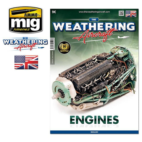 The third issue of the Weathering Aircraft, your favorite modeling magazine focused on painting and weathering techniques, is here. For this edition, our brilliant collaborators had thrown themselves into the fray, working on different engines and showing
