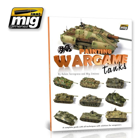 The definitive guide to paint Wargames armored vehicles by the hands of the famous Ruben Torregrosa (Heresybrush) and Mig Jimenez. Through its 96 pages we will discover, in a very visual and easy manner, how to get the results we want in our vehicles, since the book adapts to the needs of each player.