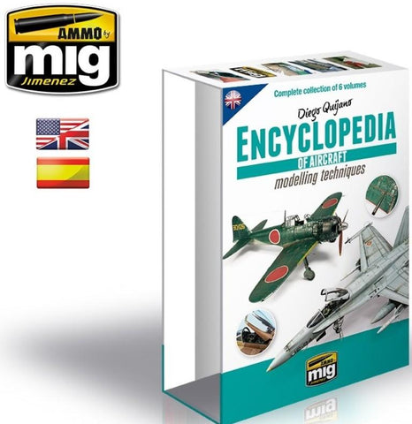 Exclusive collector case for the Encyclopedia of Aircraft Modelling Techniques now available individually. Select your desired language edition between English and Spanish.