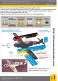 Alliance Model Works 1:48 Messerschmitt Bf 109 E-7 Tropical Camo Set.1 #AW010