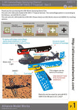 Alliance Model Works 1:48 Messerschmitt Bf 109 E-7 Tropical Camo Set.2 #AW011