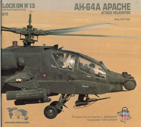 Verlinden Publication #670 Lock On #13 AH-64A Apache Attack Helicopter N/A Verlinden Publications