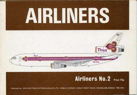 Airliners Number 2 Airline Publications & Sales Ltd.