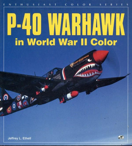 Enthusiast Color Series P-40 Warhawk In World War II Color