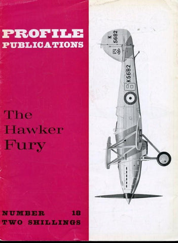 Profile Publications #18 The Hawker Fury by Francis K. Mason N/A Profile Publications