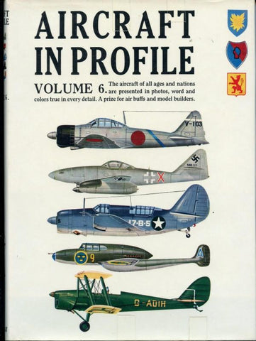 Aircraft In Profile Volume #6 Doubleday & Company, Inc.