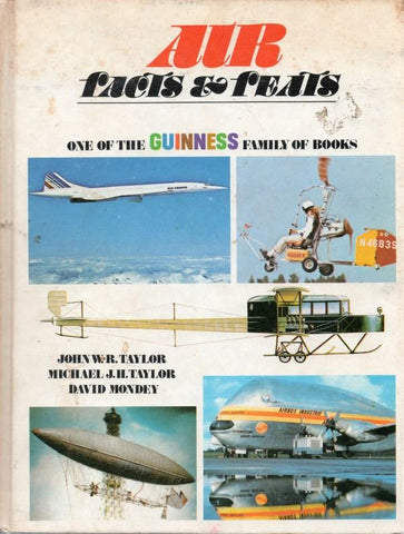 Air Facts & Feats- One Of The Guiness Family Of Books