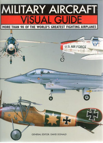 Military Aircraft Visual Guide By David Donald N/A Amber Books
