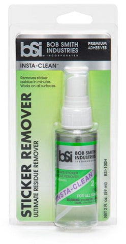 Works on all surfaces, including: glass, cardboard, plastic, fiberglass and everything else. INSTA-CLEAN™ is ideal for removing price stickers and their adhesive residue.