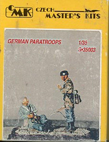 CMK 1:35 German Paratroops 2 Resin Figures Kit #S-35003 N/A CMK