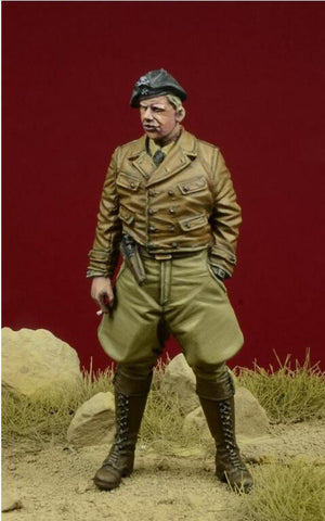 D-day Miniature 1:35 German Legion Condor Pzgruppe Drohne Officer #1 Kit #35085 N/A D-day Miniature