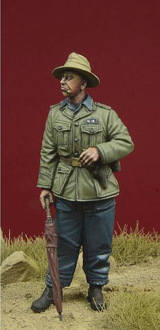 D-day Miniature 1:35 German Legion Condor Pzgruppe Drohne Officer #2 Kit #35086 N/A D-day Miniature