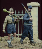 D-day Miniature 1:35 The Last Order Vol.3 HJ Boys German 1945 Two Figures #35067