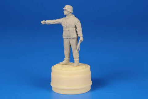 CMK 1:48 German WWII Soldier Ardennes 1944 - Resin Figure Kit #F48296 N/A CMK