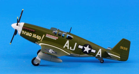 Franklin Mint Armour Collection 1:48 P-51 B Mustang Ding Hao Diecast Model N/A 21st Century Toys