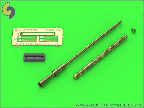 Master 1:35 Russian 14.5mm Heavy MG Round Cooling Holes for ZPU-1 2 4 #GM35010 N/A Master Model