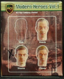 ACI Toys 1:6 Modern Heroes Vol.1 Action Figure Head - Stone  2 Pack #ACIStone