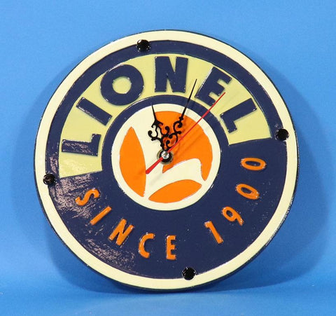 Lionel Since 1900 Ceramic Battery Wall Clock #7-11125
