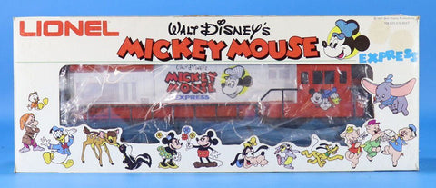 Lionel O Gauge Walt Disney's Mickey Mouse Express U-36B Diesel Engine #6-8773