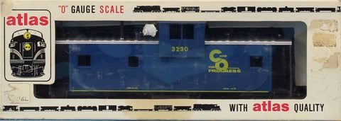 Atlas O Gauge Caboose Car #3230 Chesapeak & Ohio #6233U N/A Atlas