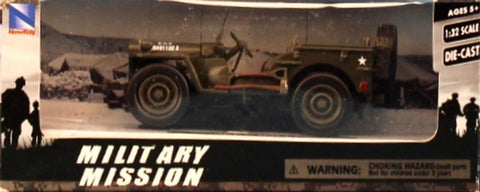 New Ray 1:32 WWII US Army MB Jeep Diecast Model U N/A New_Ray