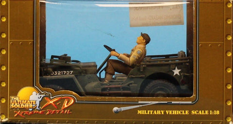 21st Century Toys Ultimate 1:18 MB Military Vehicle Driver Built Model #10120U N/A 21st_Century_Toys