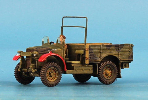 King & Country 1:32 British Bomb Dfsposal Morris CS8 Truck Built Model #FOB097 N/A King_Country