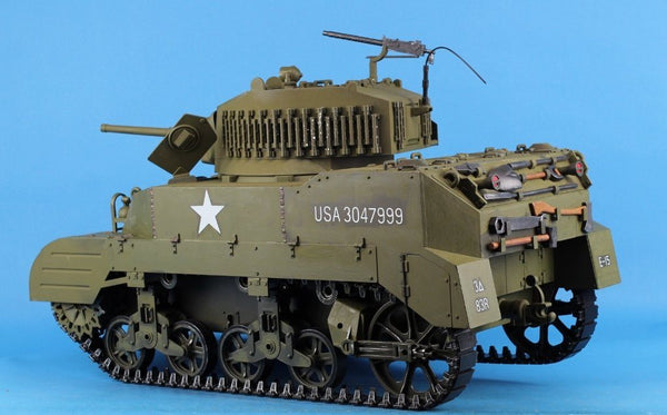 "21st Century Toys Ultimate Soldier 1:6 12"" M5 Light Tank Built ..."