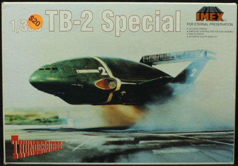 IMEX 1:350 Thunderbirds TB-2 Special - Plastic Model Kit #1205 N/A IMEX