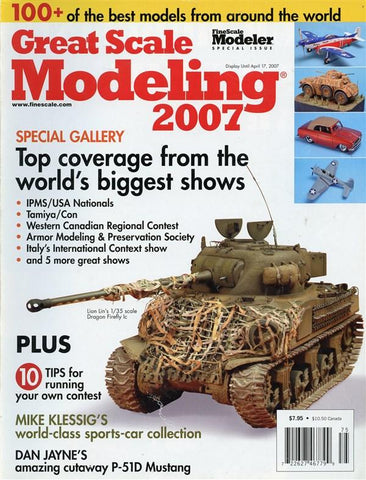 Fine Scale Modeler Special Issue Great Scale Modeling 2007 Magazine