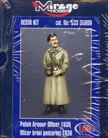 Mirage Hobby 1:35 Polish Armour Officer 1939 Kit #533-35009 N/A Mirage_Hobby