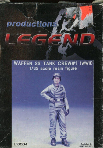 Legend Productions 1:35 Waffen SS Tank Crew #1 WWII Resin Figure #LF0004U N/A Legend