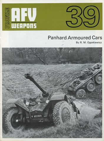 Panhard Armoured Cars AFV Weapons Profile Jaunary 1 1972 #39 U1 N/A AFV