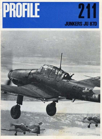Junkers Ju 87D Warship No.211 by Richard P. Bateson Reference Book Profile U2 N/A Profile Publications