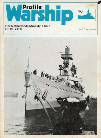 Her Netherlands Majesty's Ship Warship No.40 by F.C.Van Oosten Profile U2 N/A Profile Publications