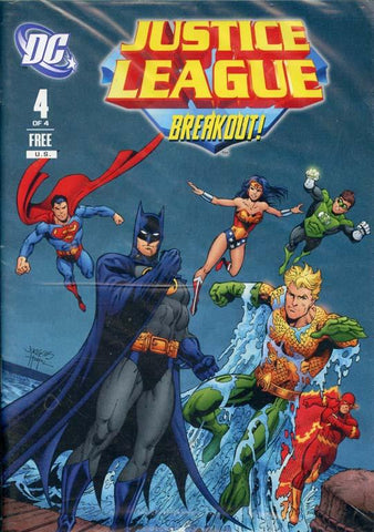 Justice League Breakout DC No.4 Reference Book N/A DC