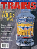 Trains 9 September 2000 Vol.60 No.9 Magazine Wings over the West U N/A Trains