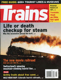 Trains 5 May 2013 Vol.73 No.5 Magazine Life or Death Checkup for Steam U N/A Trains