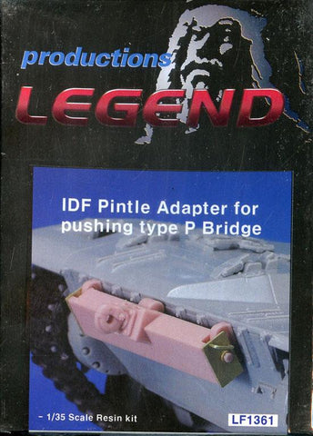 Legend Productions 1:35 IDF Pintle Adapter for Pushing Type P Bridge Set #LF1361 N/A Legend