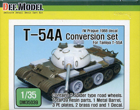 DEF Model 1:35 T-54A Conversion set for Tamiya #DM35039 N/A DEF_Model