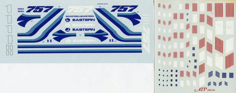 ATP 1:200 Eastern 757 or 727-25 /-225/A Decal Sheet #200AD15U N/A ATP