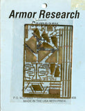 Armor Research Company 1:35 M3 M4 Superdetail Set INC Sandskirt Strips ETC #1018 N/A Armor_Research_Company