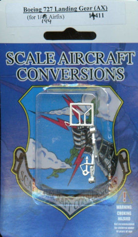 SAC 1:48 Boeing 727 Landing Gear for Airfix Detail Set #11411 N/A SAC