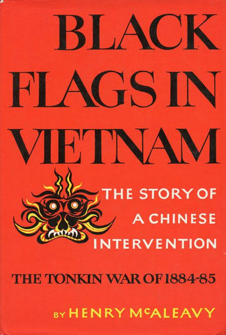 Black Flags in Vietnam By Henry McAleavy Hardcover Book Macmillan U2 N/A Macmillan_Company